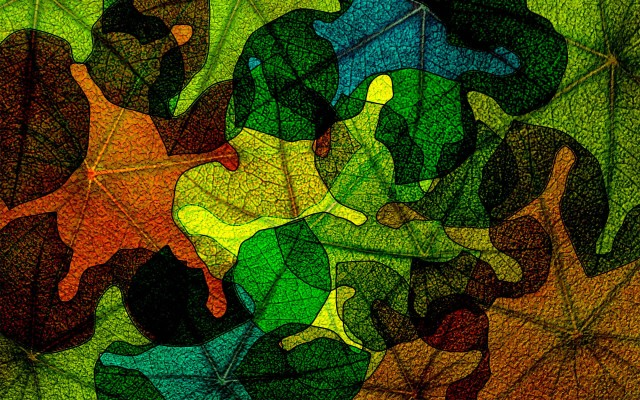 stained-glass-glass-leaves-wallpaper-autumn-abstract-color-spot