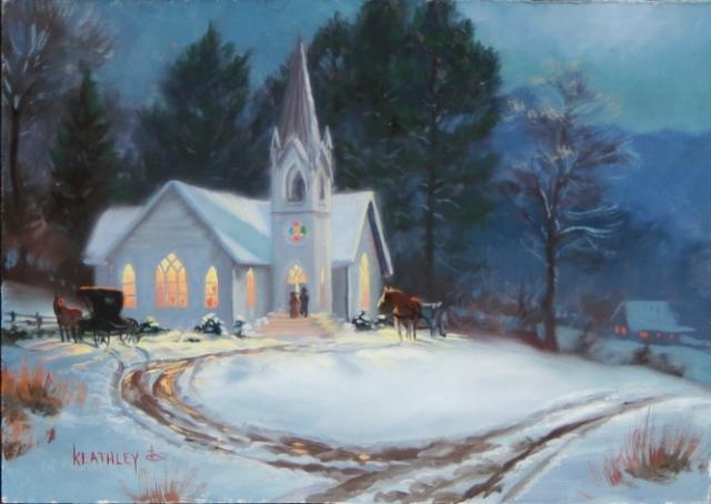 chapel-in-snow-study
