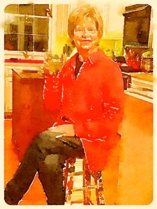 "Preset Style = Travelogue Format = 6"" (Medium) Format Margin = Small Format Border = Sm. Rounded Drawing = #2 Pencil Drawing Weight = Heavy Drawing Detail = Medium Paint = Natural Paint Lightness = Auto Paint Intensity = More Water = Orange Juice Water Edges = Medium Water Bleed = Average Brush = Fine Detail Brush Focus = Everything Brush Spacing = Medium Paper = Buff Paper Texture = Medium Paper Shading = Medium Options Faces = Enhance Faces"