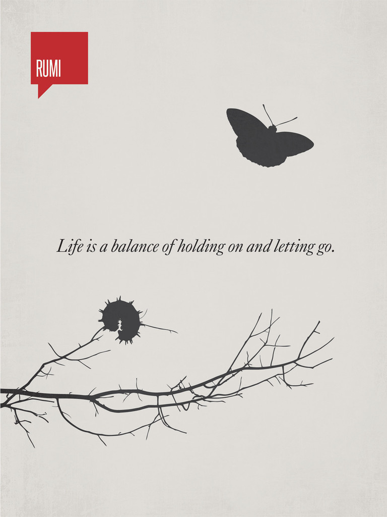 Life Is A Balancing Act Of Holding On And Letting Go Chapel Of